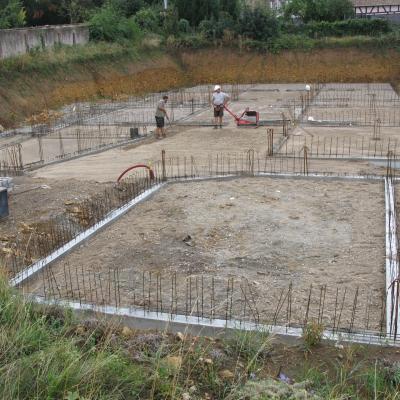 Les Jardins du Comte Bâtiment A-D Fondations au 20180914