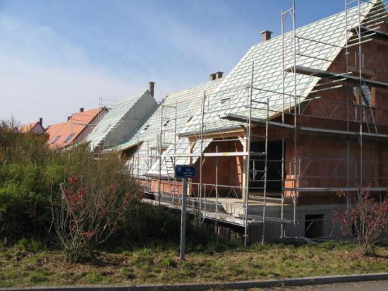 Maisons A toiture Sud
