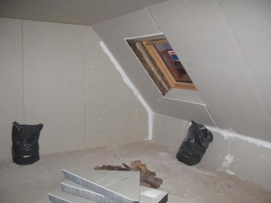 Plâtrerie 1er étage