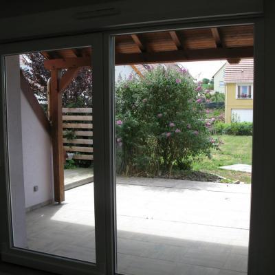 Niedermodern B4 Salon vue terrasse