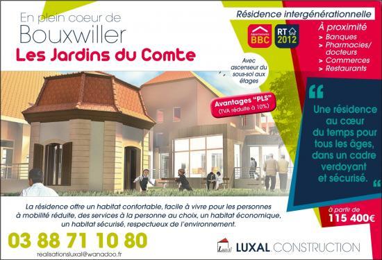 LuxalBouxwiller Les Jardins du Comte