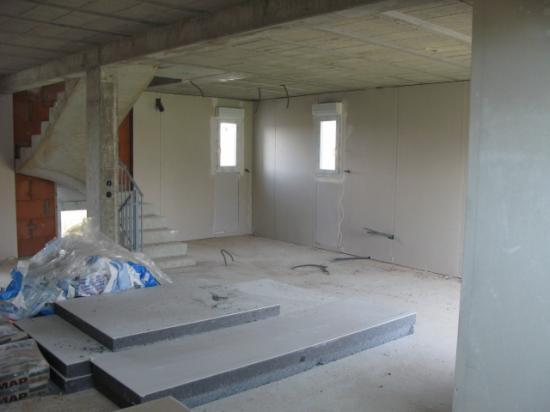 MaisonA1 Travaux Platre+Isolation murs14.03.30
